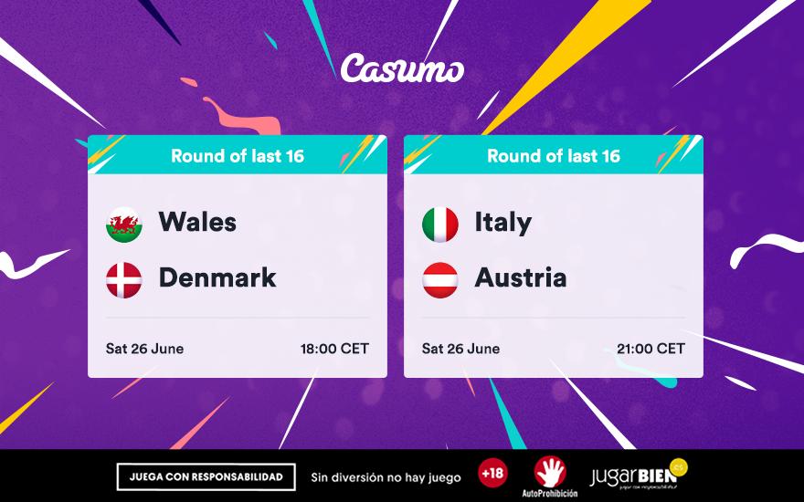 Pronósticos Eurocopa 2021: Sábado 26/06 Italia - Austria y mucho más
