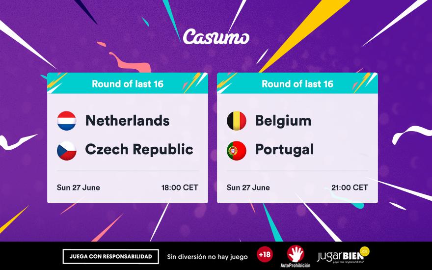 Pronósticos Eurocopa 2021: 27/06 Bélgica - Portugal y mucho más